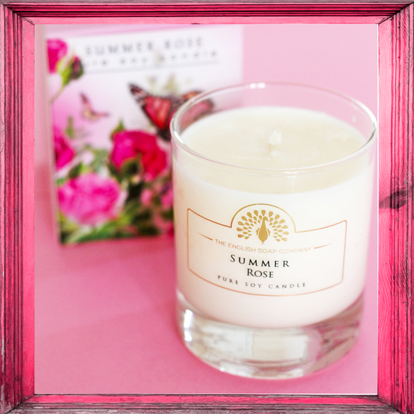Summer Rose Candle