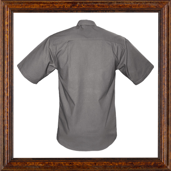 Mens Trail Short Sleeved Shirt with epaulets