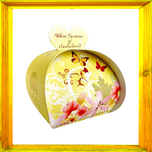 White Jasmine and Sandalwood Luxury Guest Soaps