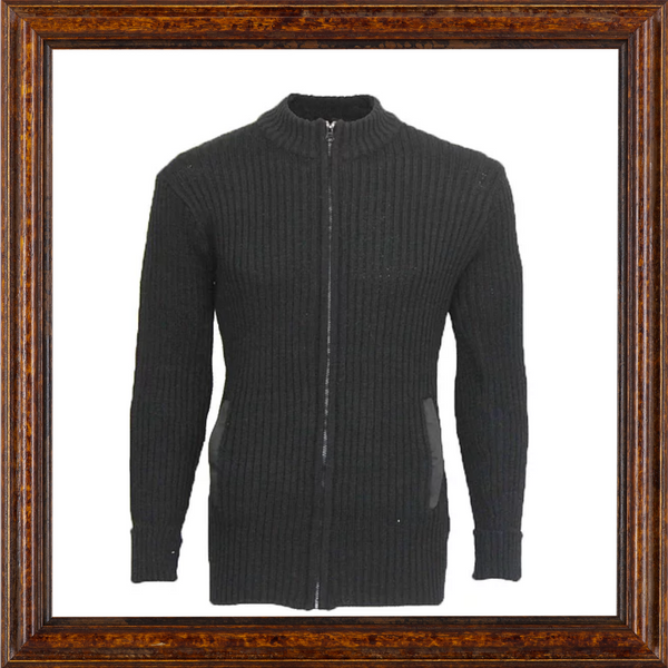 Wooly Pully Full Zip Cardigan