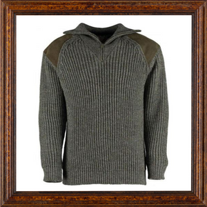 Sweater - Zipped Swaledale