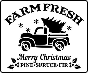 JRV Farm Fresh Christmas Truck