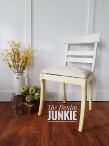 Yellow Ombre Chair