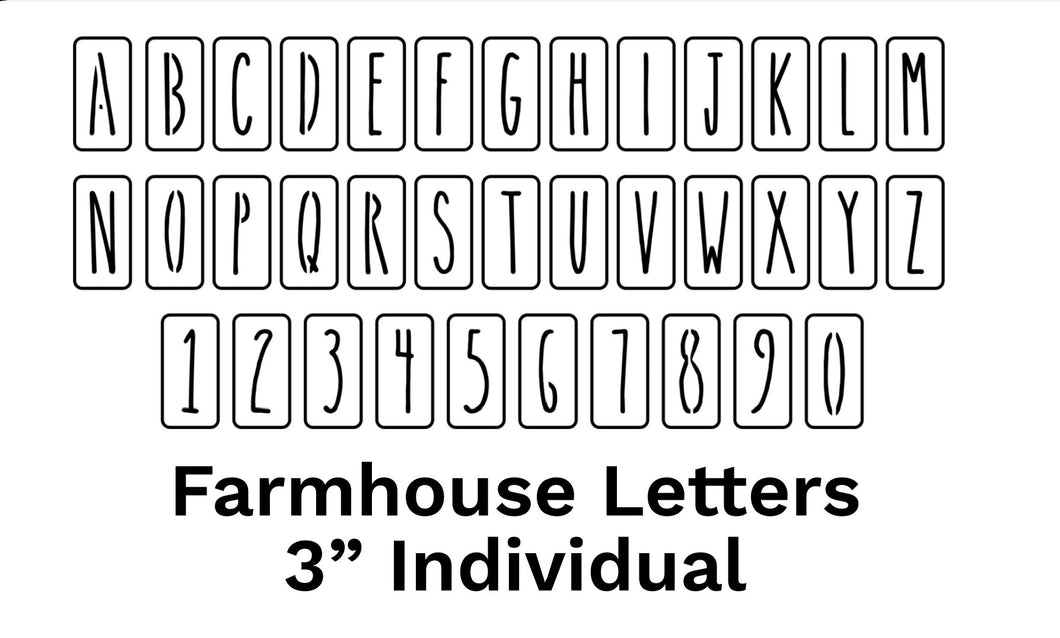 JRV Farmhouse Letters 3
