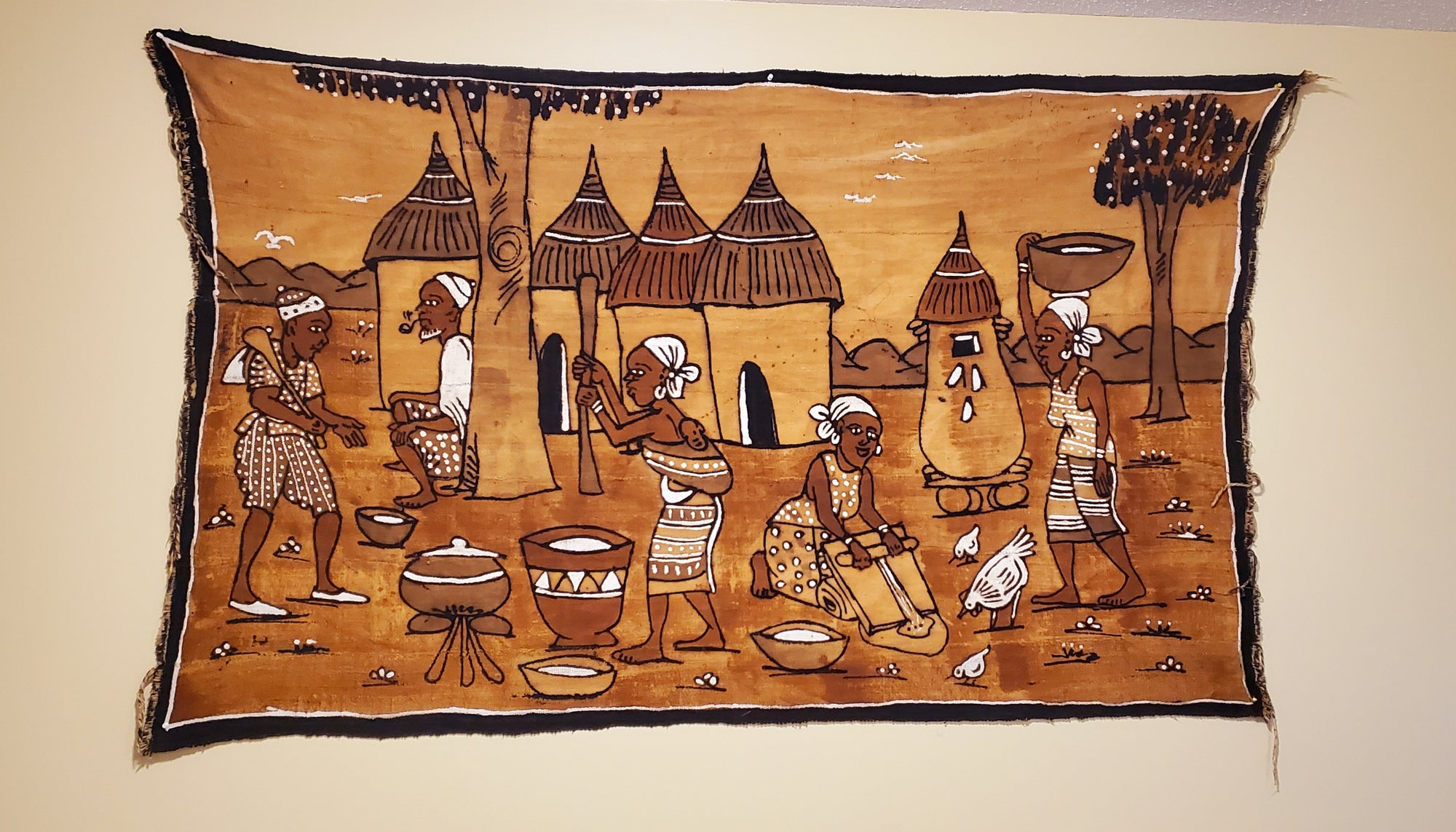 Mudcloth Tapestry