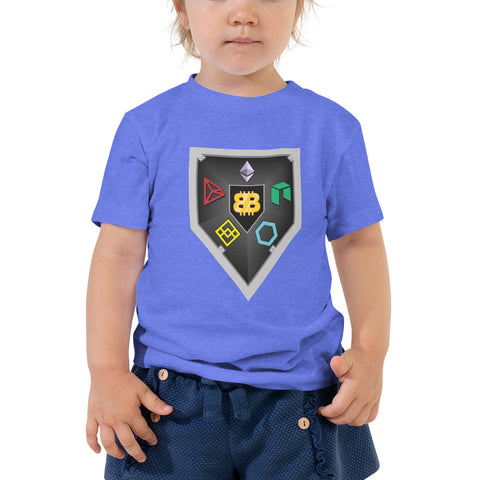 Bitboy Shield Toddler Short Sleeve Tee