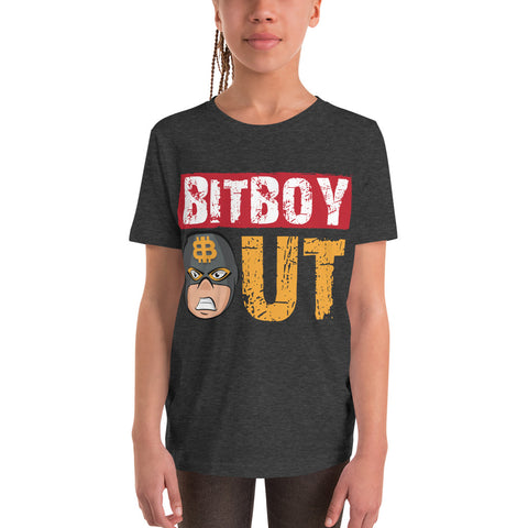 Bitboy Out Youth Short Sleeve T-Shirt