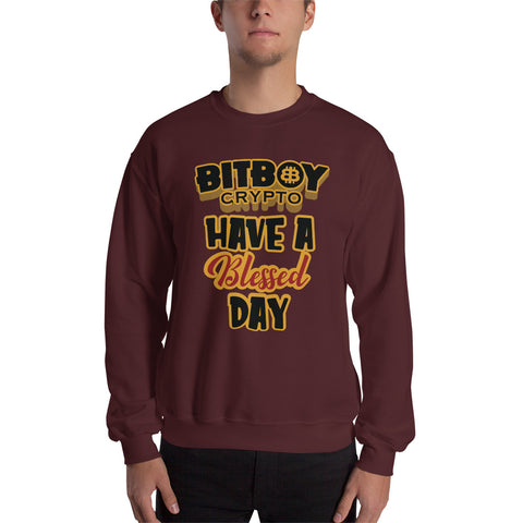 Have a Blessed Day Bitboy Sweatshirt