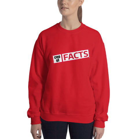 Ceo of Facts Basic Sweatshirt