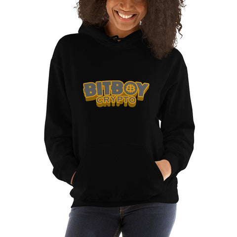 BitBoy Basic Women Hoodie CEO of Facts Black S