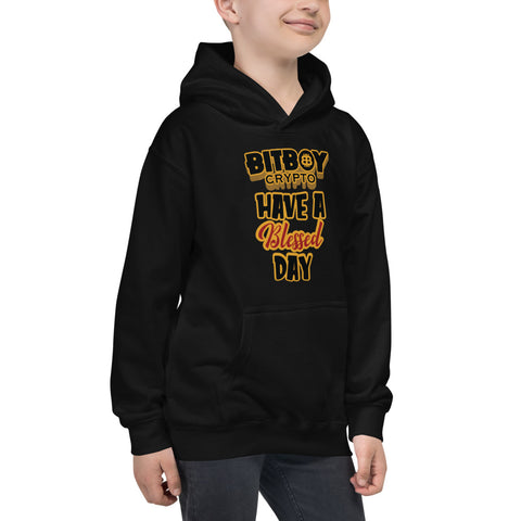 Have a Blessed Day Bitboy Kids Hoodie