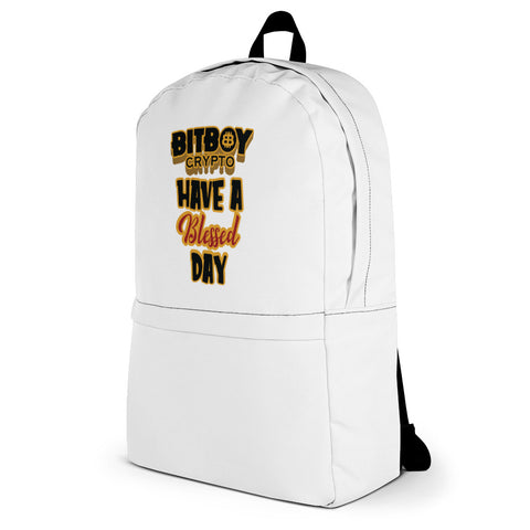 Bitboy Have a Blessed Day Backpack