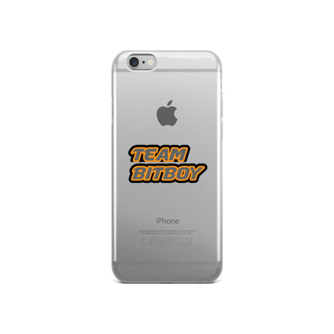 """TEAM BITBOY"" iPhone Case"