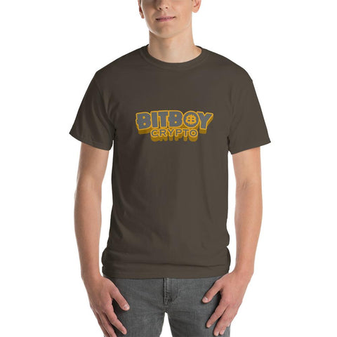 BitBoy Crypto Basic Short Sleeve T-Shirt CEO of Facts Olive S