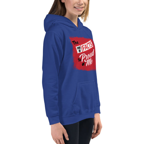 """The CEO Of Facts Is Proud Of Me"" Kids Hoodie"
