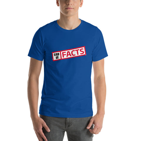 Ceo of Facts Basic Short-Sleeve T-Shirt