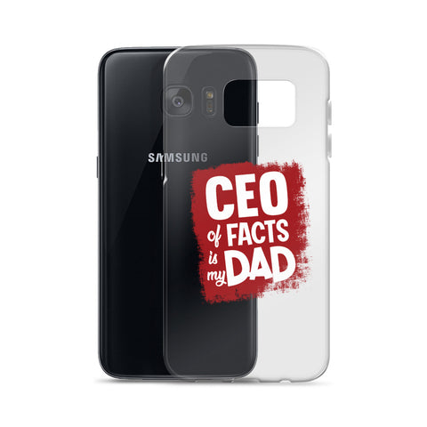 """CEO of Facts Is My Dad"" Samsung Case"