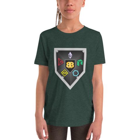 Bitboy Shield Youth Short Sleeve T-Shirt