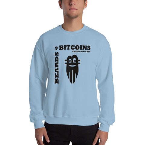 Beards & Bitcoins Basic Sweatshirt