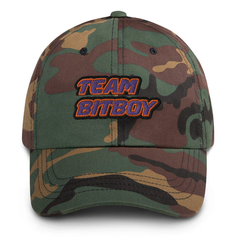"""TEAM BITBOY"" Dad hat"