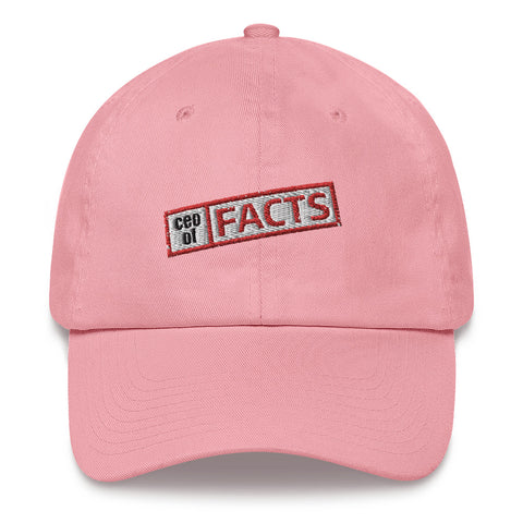 Ceo of Facts Basic Dad Hat