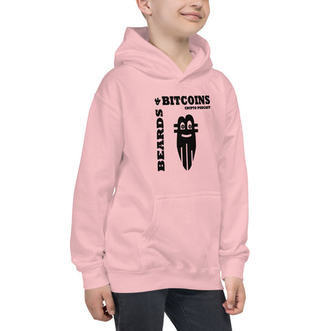 Beards & Bitcoins Basic Kids Hoodie