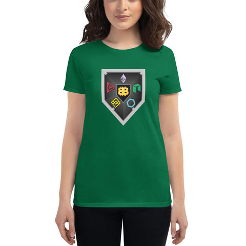Bitboy Shield Women's short sleeve t-shirt