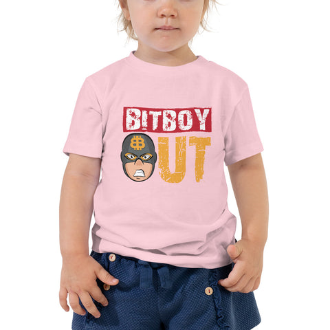 Bitboy Out Toddler Short Sleeve Tee