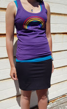Load image into Gallery viewer, Glitter rainbow Tee Shirt and Vest