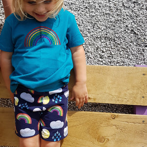 Children's organic shorts