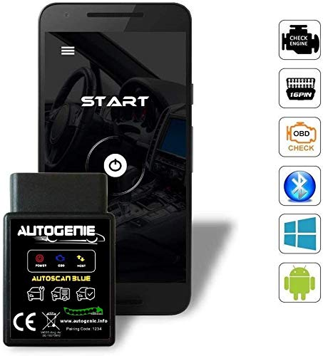 Autogenie © Bluetooth ECHTZEIT-Daten & Diagnose für Android Handy - autogenie Store