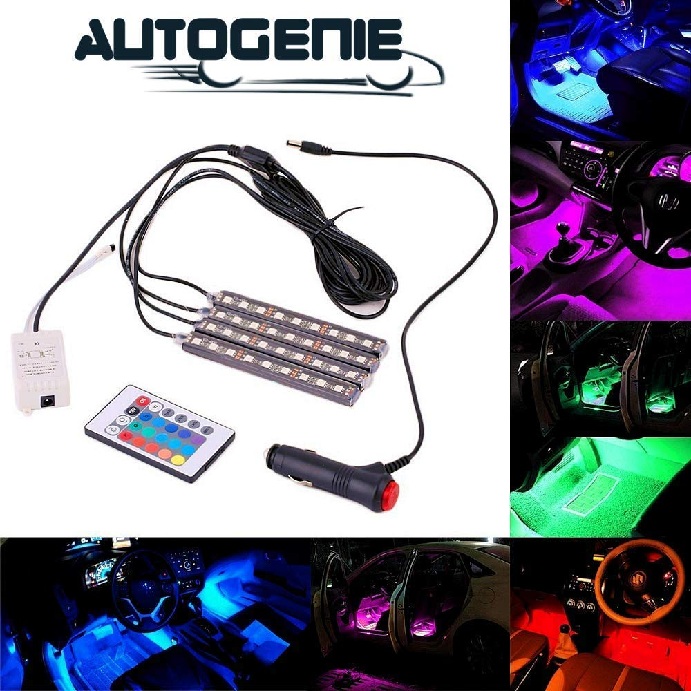 Autogenie © NightVision LED Auto Innenbeleuchtung mehrfarbig Atmosphäre - autogenie Store