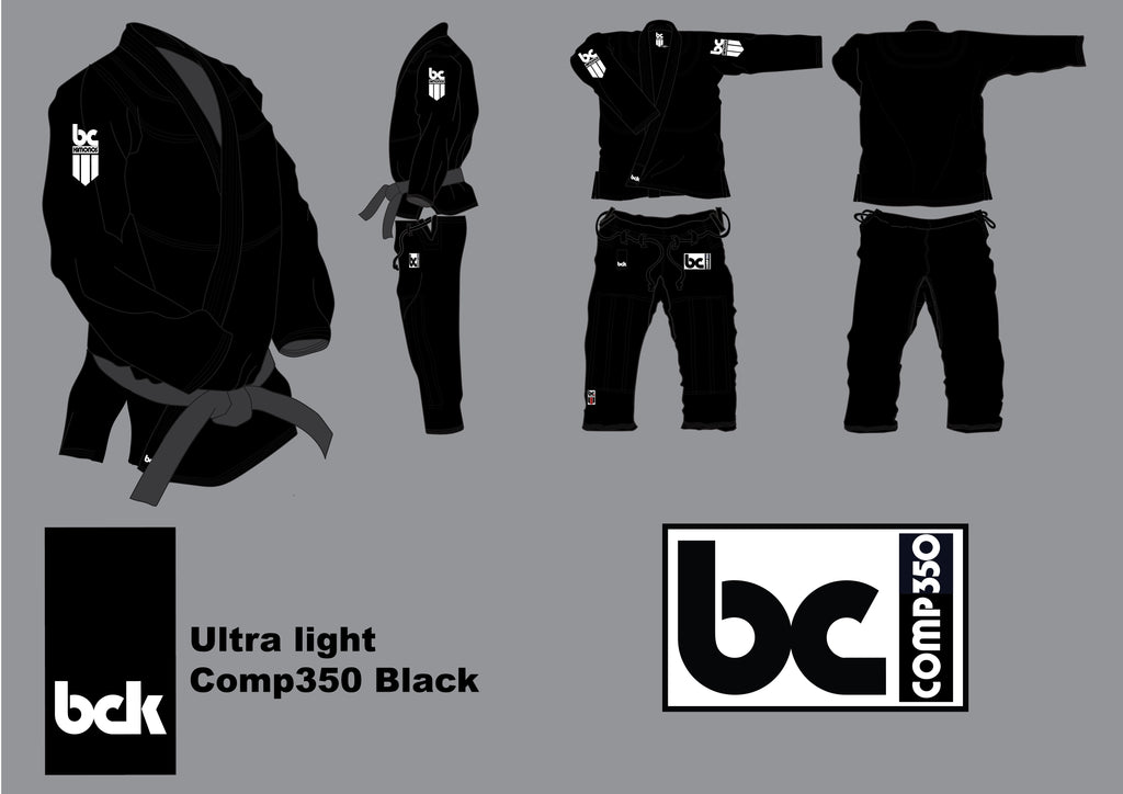 Comp350 Ultralight Black Standard