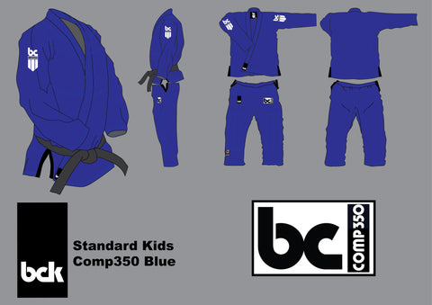 BCK Kids Comp350 Royal Blue- New