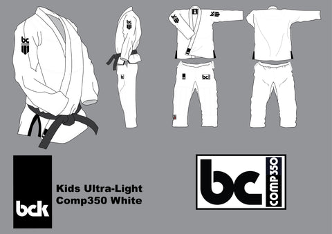 BCK Kids Comp350 White