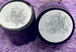Amethyst body butter & scrub set