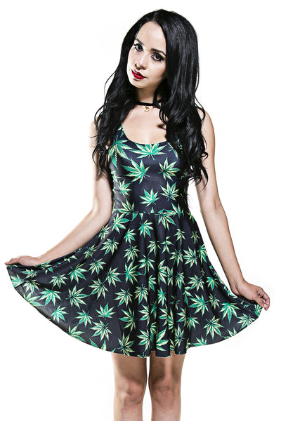 e8aa6fd4c2 Quick shop. Weed Skater Dress