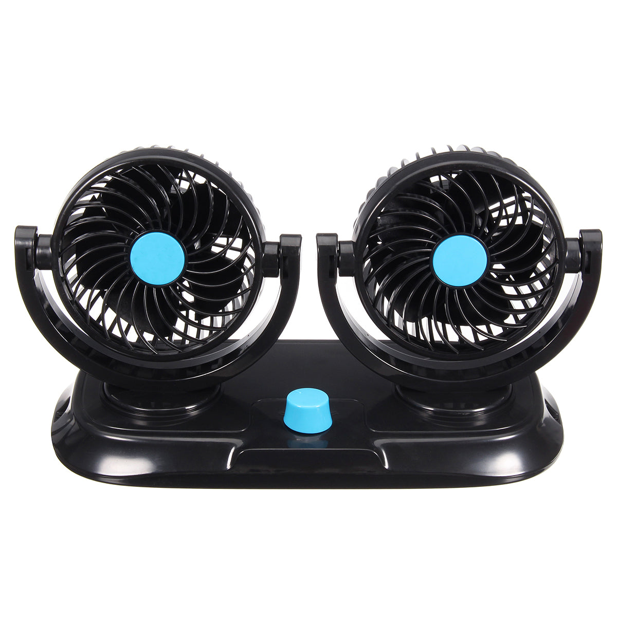 Dual Adjustable 360 Degrees Mini Oscillating Fan