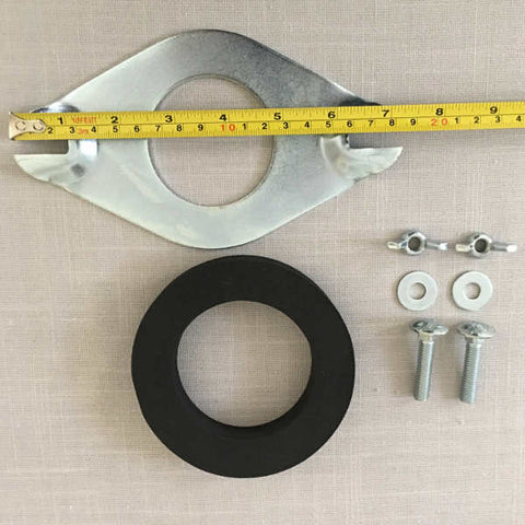 2 inch Close Coupling Kit With Cranked Plate Ends