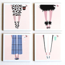 Load image into Gallery viewer, Bottoms Up Fashion Coasters - The Boutique by Sour Apple Beauty Bar