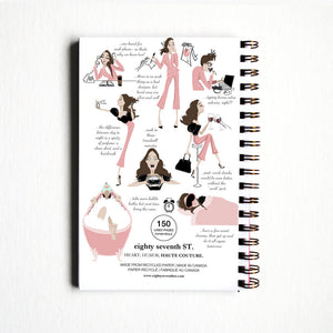 Note to Self Notebook - The Boutique by Sour Apple Beauty Bar