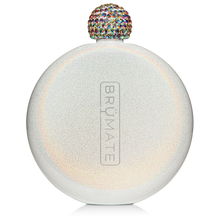 Load image into Gallery viewer, GLITTER FLASK | ICE WHITE