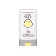 Load image into Gallery viewer, Baby Bum Mineral SPF 50 Sunscreen Face Stick-Fragrance Free - The Boutique by Sour Apple Beauty Bar