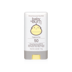 Baby Bum Mineral SPF 50 Sunscreen Face Stick-Fragrance Free - The Boutique by Sour Apple Beauty Bar
