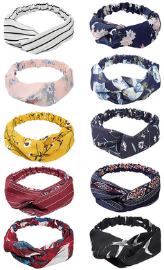 Boho Twist Knot Head Wraps - The Boutique by Sour Apple Beauty Bar