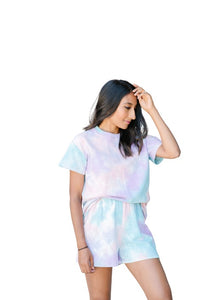 The Freebird Lounge Set - Tie Dye