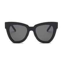 Load image into Gallery viewer, HAYLEY | Shady Lady Sunglasses - Black - The Boutique by Sour Apple Beauty Bar