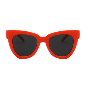 HAYLEY | Shady Lady Sunglasses - Red - The Boutique by Sour Apple Beauty Bar