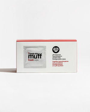 Fresh Wipes 25pk | I Love my Muff - The Boutique by Sour Apple Beauty Bar