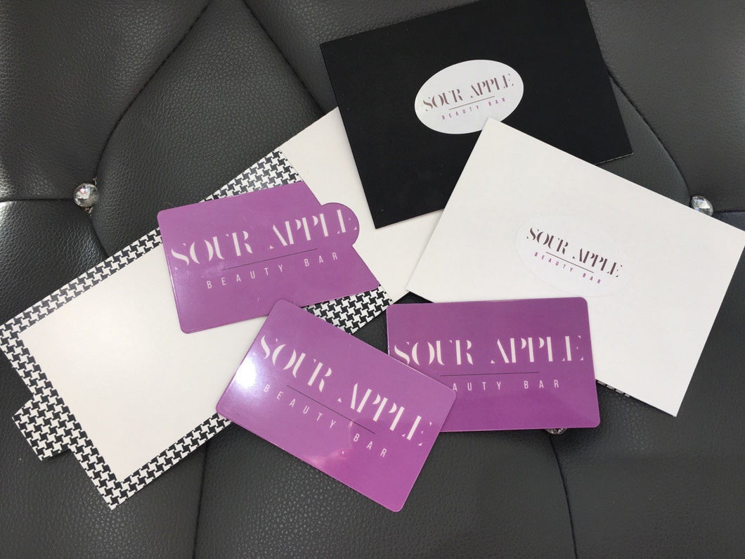 Gift Card - The Boutique by Sour Apple Beauty Bar